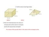 Volume of Pyramids & Cones Interactive Lesson