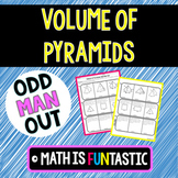Volume of Pyramids Odd Man Out