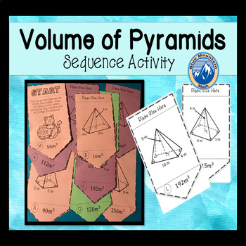 Volume of Pyramids Sequence Activity