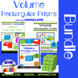 Volume of Rectangular Prism: Digital Bundle