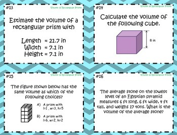 Volume of Rectangular Prisms ~Aligned to CCSS 6.G.2
