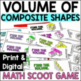Volume of Irregular Shapes Math Game - Volume with Cubic Units - Additive Volume