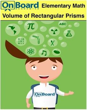 Volume of Rectangular Prisms-Interactive Lesson