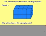Volume of Rectangular Prisms (Introduction to Volume)
