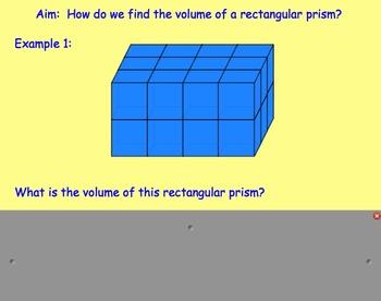 Volume of Rectangular Prisms (Introduction to Volume)