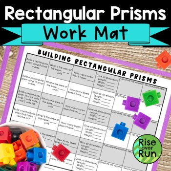 Volume of Rectangular Prisms, Linking Cubes Activity