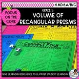 Volume of Rectangular Prisms Word Problems | Math Center Activities