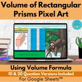 Volume of Rectangular Prisms Pixel Art