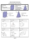 Volume of Rectangular Prisms & Pyramids