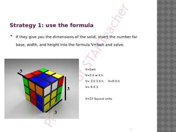 Volume of Rectangular Prisms, Square Prisms, Cubes
