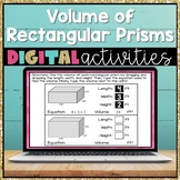Volume of Rectangular Prisms and Composite Figures Digital Activities 5.MD.5