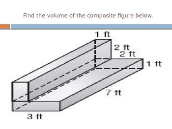 Volume of Rectangular Prisms and Composite Figures Review Slideshow FREEBIE