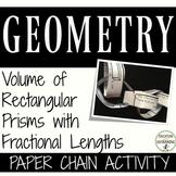 Volume Fractional Edges Activity Paper Chain