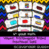 Volume of Rectangular Prisms with Fractional Sides - Math