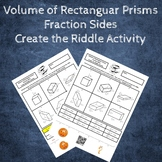 Volume of Rectangular Prisms with Fractional Sides Create