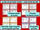Volume of Regular & Irregular Prisms - task cards and printables bundle