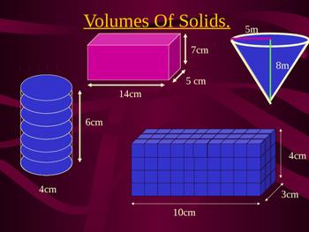 Volume of Solids