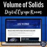 Volume of Solids Digital Escape Room Activity