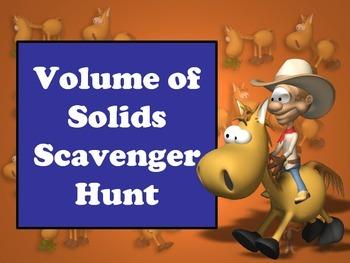 Math Volume of Solids