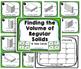 Volume of Solids Task Card Set