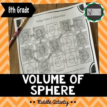 Volume of Sphere Maze Activity