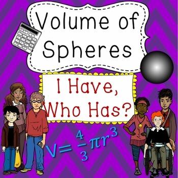 Volume of Spheres