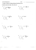 Volume of Spheres - Finding Radius and Doubling Radius