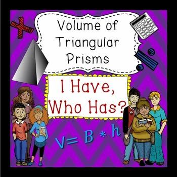 Volume of Triangular Prisms