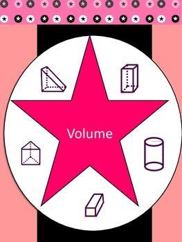 Volume of Triangular Prisms, Rectangular Prisms, and Cylinders