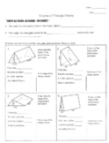Volume of Triangular Prisms Worksheet with Key!