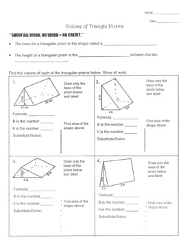 volume of prisms and cylinders worksheet – eurotekinc likewise Triangular Prism Volume Worksheet Collection Of Pyramids Free moreover  as well Volume Worksheets additionally Volume And Surface Area Worksheet Tes Worksheets   Puzzles   Volume together with rectangular prism worksheet – shamsularifeen further Volume Of Rectangular Prism Worksheet Measurement Worksheets Finding furthermore Quiz Worksheet Finding The Volume Prisms And Pyramids Of Cylinders together with  further  as well Volume Worksheets   Free    monCoreSheets additionally Volume of a Rectangular Prism Worksheets   Education besides Area And Volume Of Prism Perimeter Area And Volume Worksheets Area further Volume Of Triangular Prism Worksheets   Teaching Resources   TpT together with volume of prisms and cylinders worksheet – anumaquinaria together with Volume Of Rectangular Prism Worksheet Best Of Volume Of Rectangular. on volume of a prism worksheet