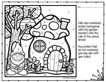 Volume of a Cone Coloring Page