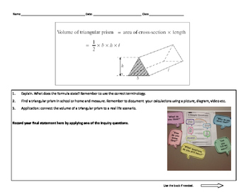 Volume of a Triangular Prism in Real Life Scenario