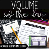 Volume of the Day - with Digital Volume Activities for Distance Learning