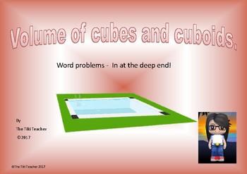 Volume problem solving using formula