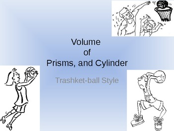 "Volume ""trash-ket-ball"" review game"