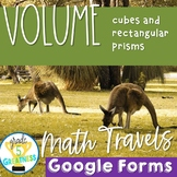 Volume with Google Forms Distance Learning Math Travel