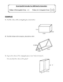 Volume/Surface & Lateral Area of 3D Solids (Prism/Cylinder