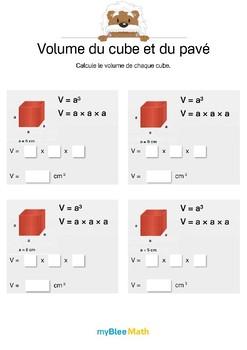 Volumes et masses -6e