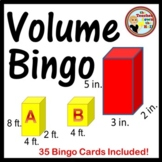 Volume Bingo  - 35 Bingo Cards Included!