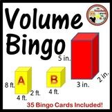 Volume Bingo 35 Bingo Cards Included!