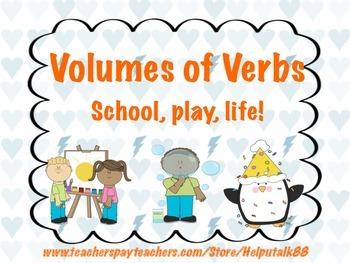 Volumes of Verbs Bundle