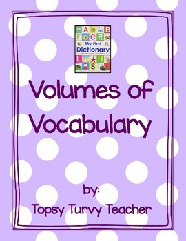 Volumes of Vocabulary - Differentiated