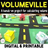 Volumeville: A Hands-on Project for Volume - Distance Learning
