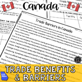 Voluntary Trade in Canada BUNDLE (SS6E5, SS65Ea, SS6E5b, SS6E5c)