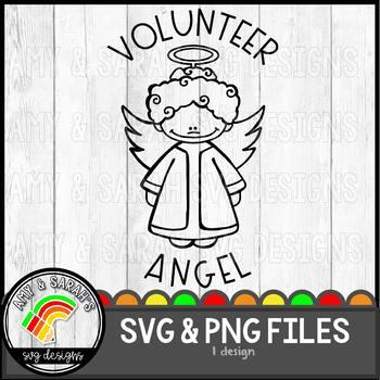 Volunteer Angel SVG Design