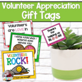 Volunteer Appreciation Gift Tags