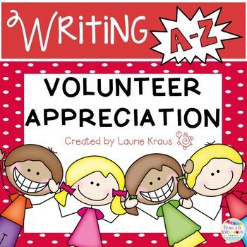Volunteer Appreciation A-Z Book