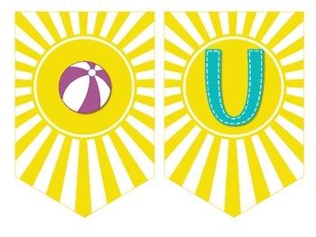 Volunteer Appreciation Banner {BEACH version}