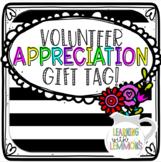 Volunteer Appreciation Gift Tag
